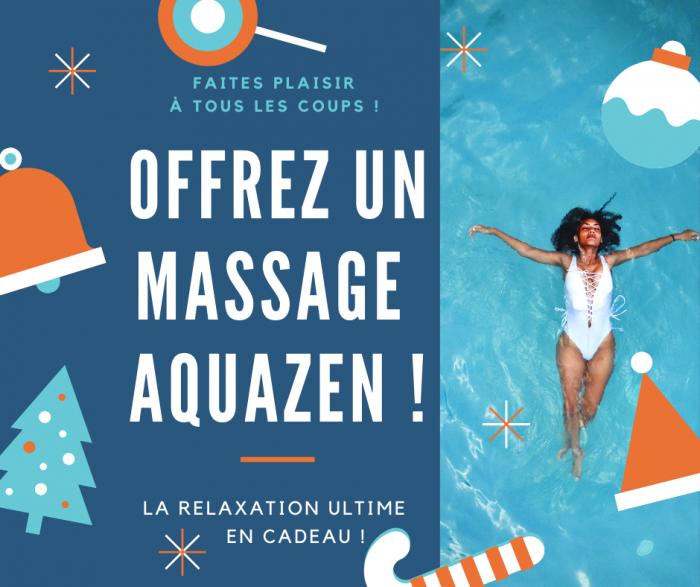 Offrez un massage AquaZen, massage shiatsu dans l'eau chaude